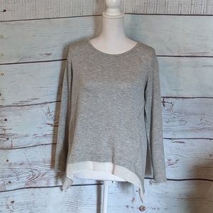 Anthropologie Pebble and Stone Layered Look Top